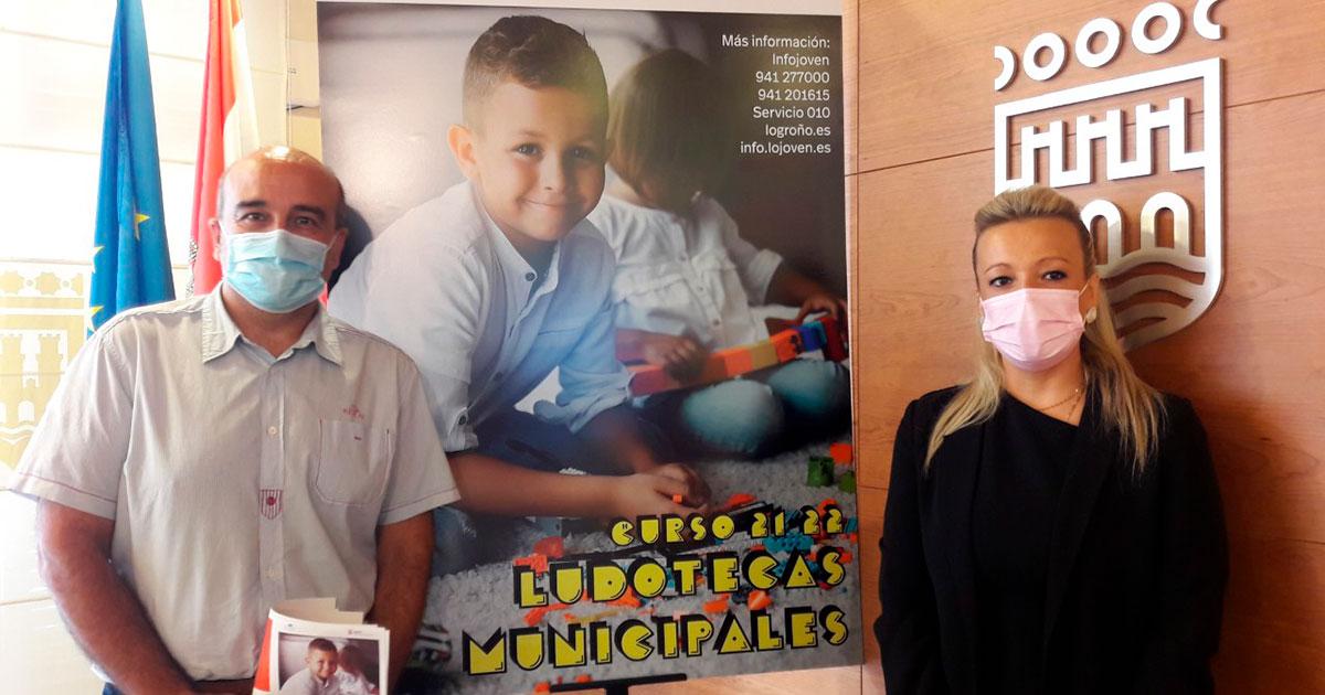 Ya se puede solicitar plaza en las ludotecas municipales de Logroño