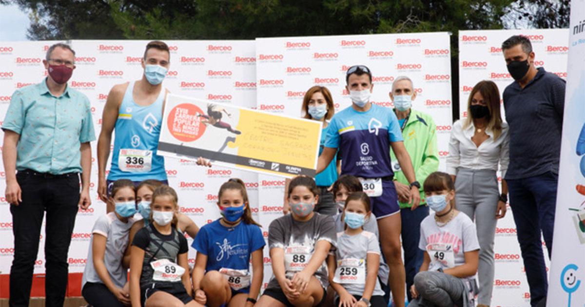 Más de 440 participantes en la Carrera Tres Parques