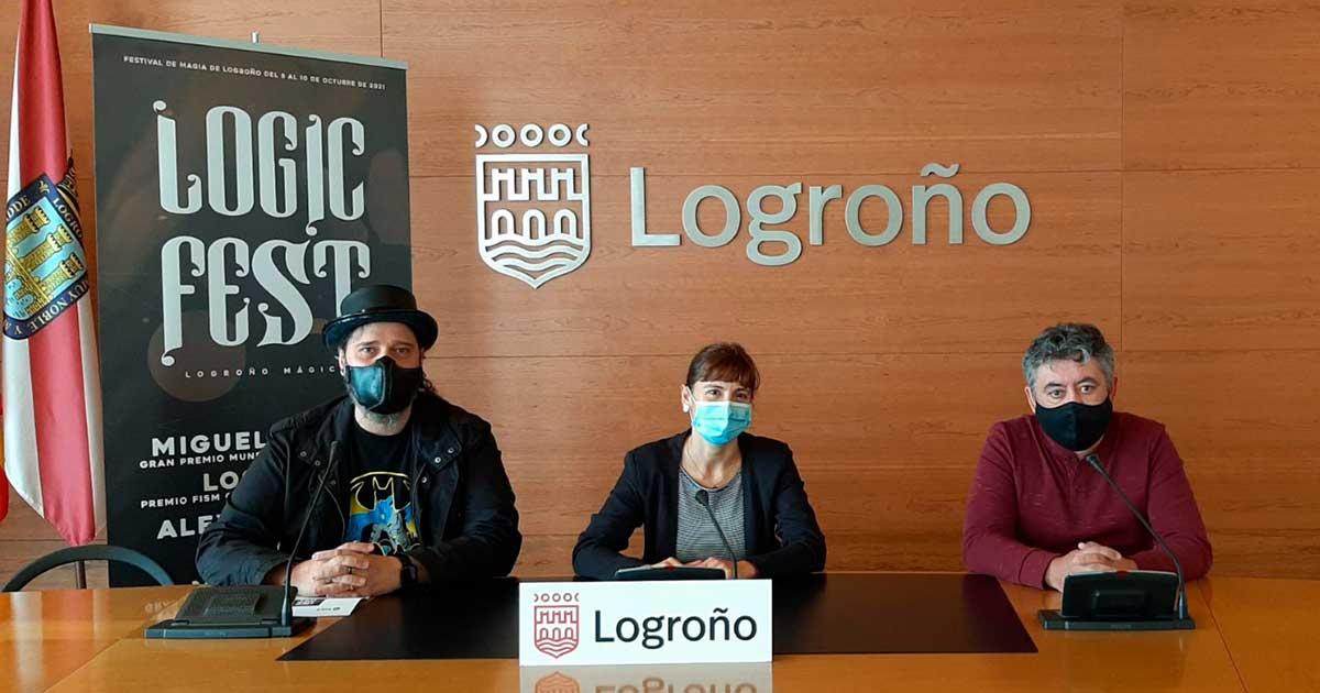 El primer festival de magia de Logroño 'Logic fest' se celebra del 8 al 10 de octubre
