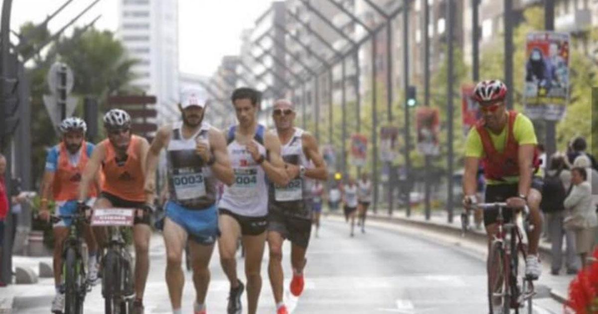 Cortes de tráfico y autobuses suspendidos este domingo por la celebración de la 'Maratón Ciudad de Logroño'