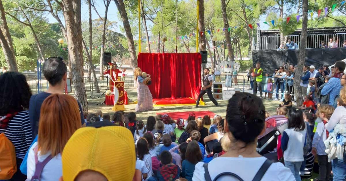 El Parque de las Marionetas ofrece más de 240 funciones de teatro infantil estas fiestas del Pilar