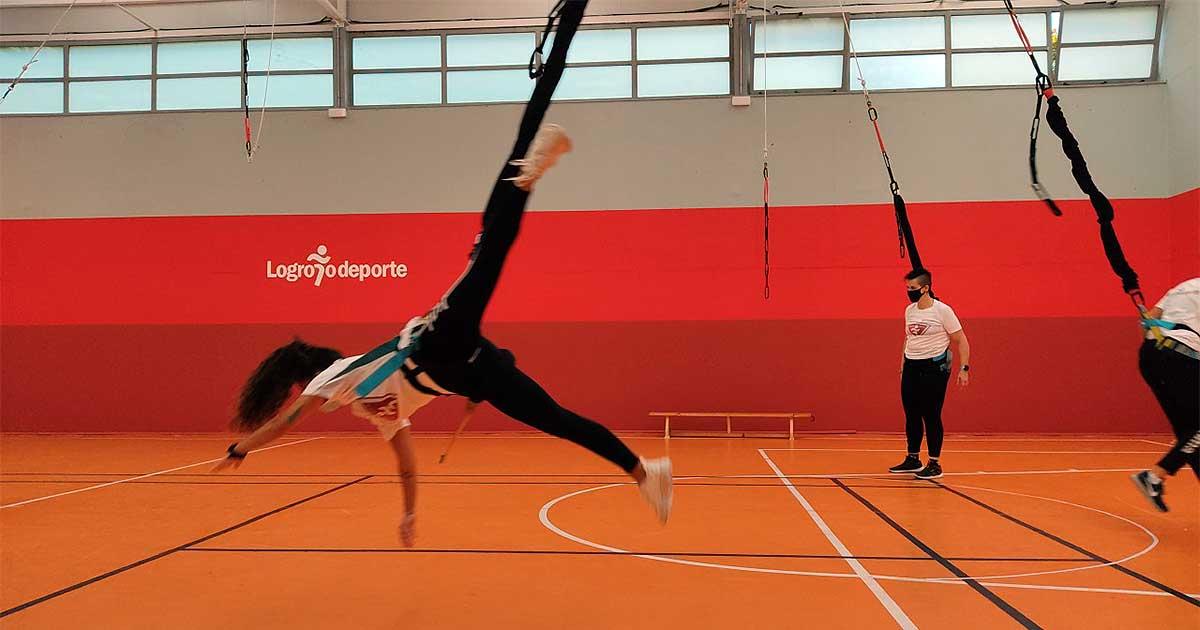 'Bungee Workout' y skate, entre las novedades de Logroño Deporte que comienzan en octubre