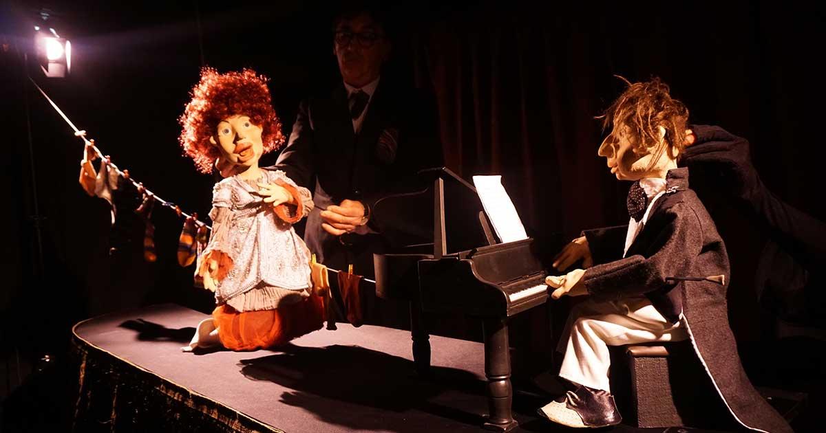 """""""Concierto enReDo menor"""", teatro musical con marionetas en Sala Negra"""