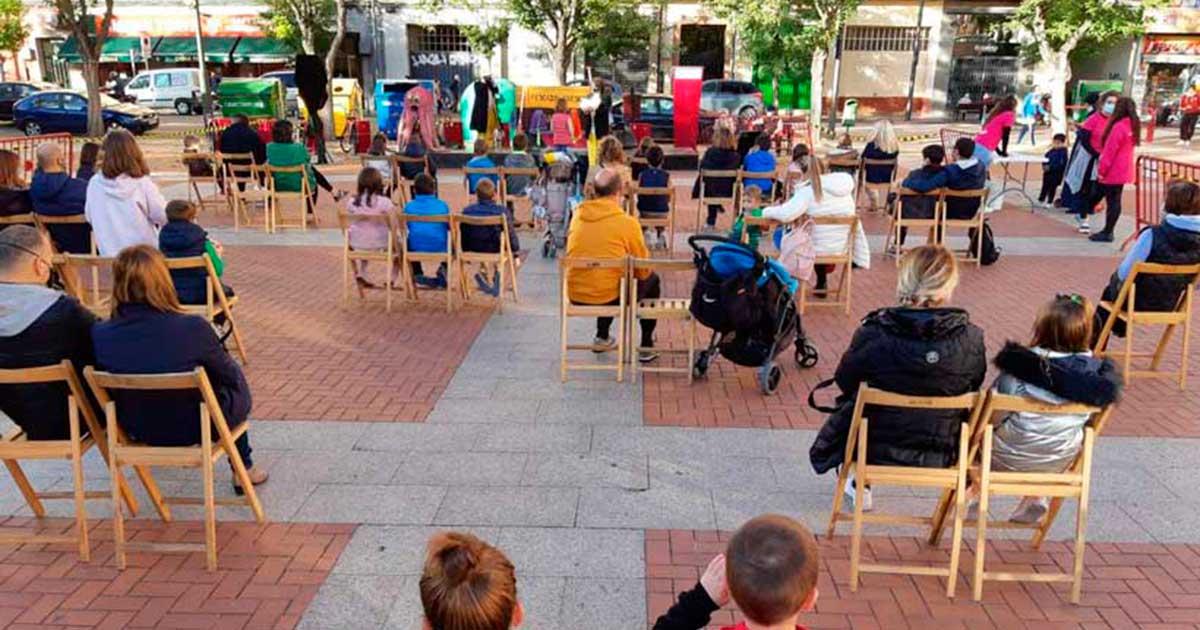 'Participación en otoño' actividades de ocio familiar durante el puente del Pilar