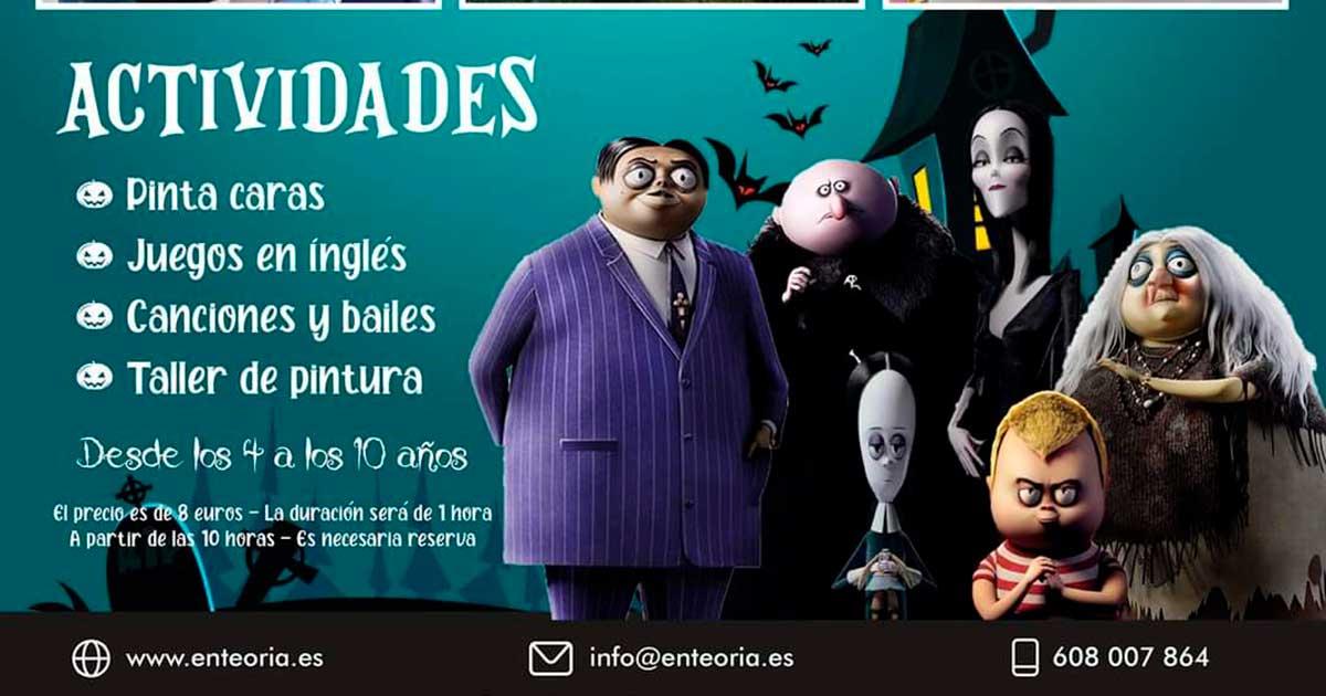 Halloween en Villamediana en la academia En Teoría