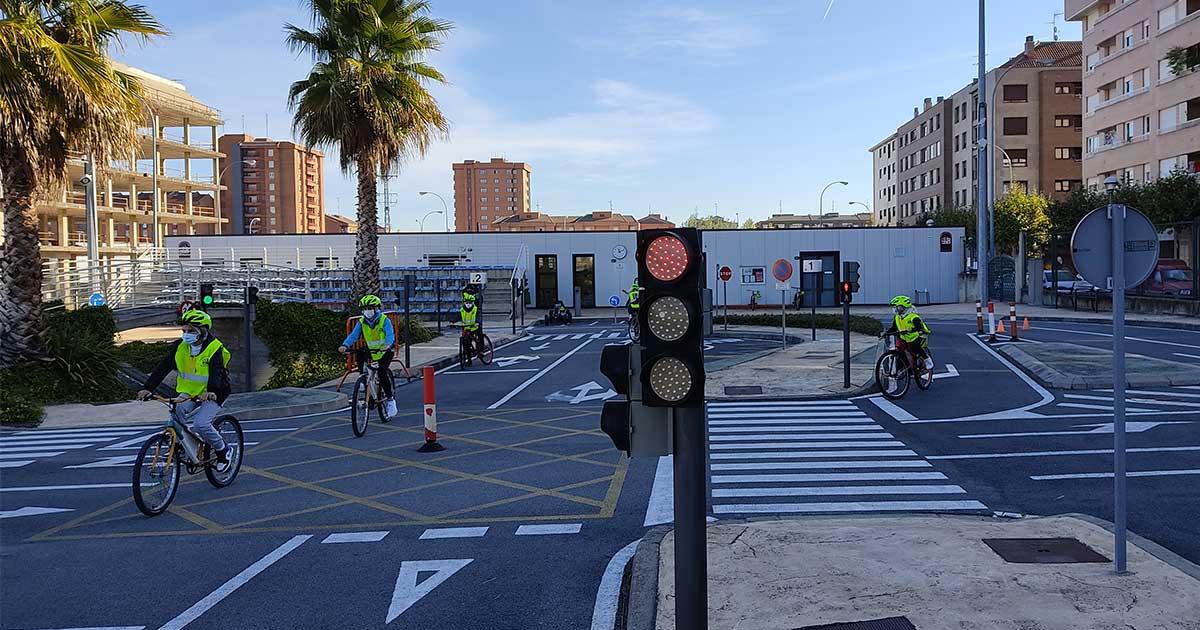 La educación vial escolar regresa al Parque Infantil de Tráfico