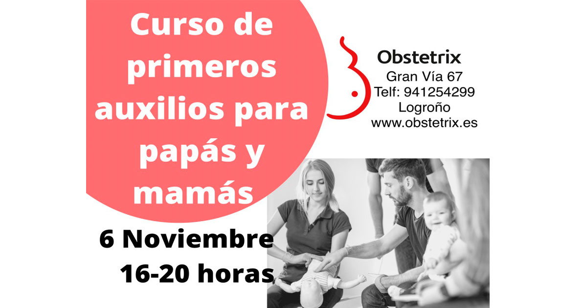Curso de primeros auxilios para padres en Obstetrix