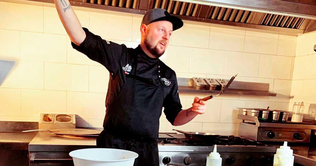 Taller de cocina en Xperience con Basur, chef de El Arao