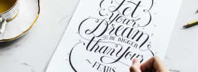 Taller de lettering ilustrado con Valle Camacho en Friends and Family